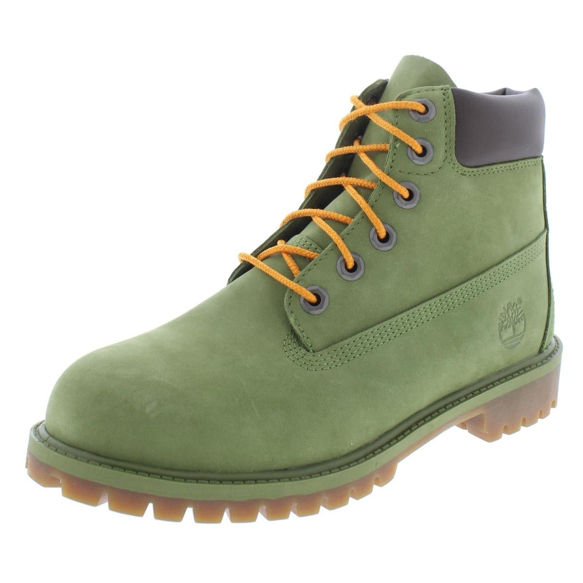 b4e681e90cd Timberland Boys 6in WP Boot Casual Boots Suede Ankle - 6 medium (d) big kid