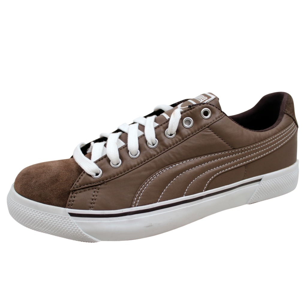 Shop Puma Men s Benny Breaker Suede And Nylon Caramel Coffee Bean 348617 01  Size 8 - Free Shipping On Orders Over  45 - Overstock - 19507425 ae2266a25e59
