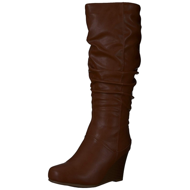7ce9a3d357cc Shop Brinley Co Women s Star Slouch Boot Regular   Wide Calf - 9 - On Sale  - Free Shipping On Orders Over  45 - Overstock.com - 22633655
