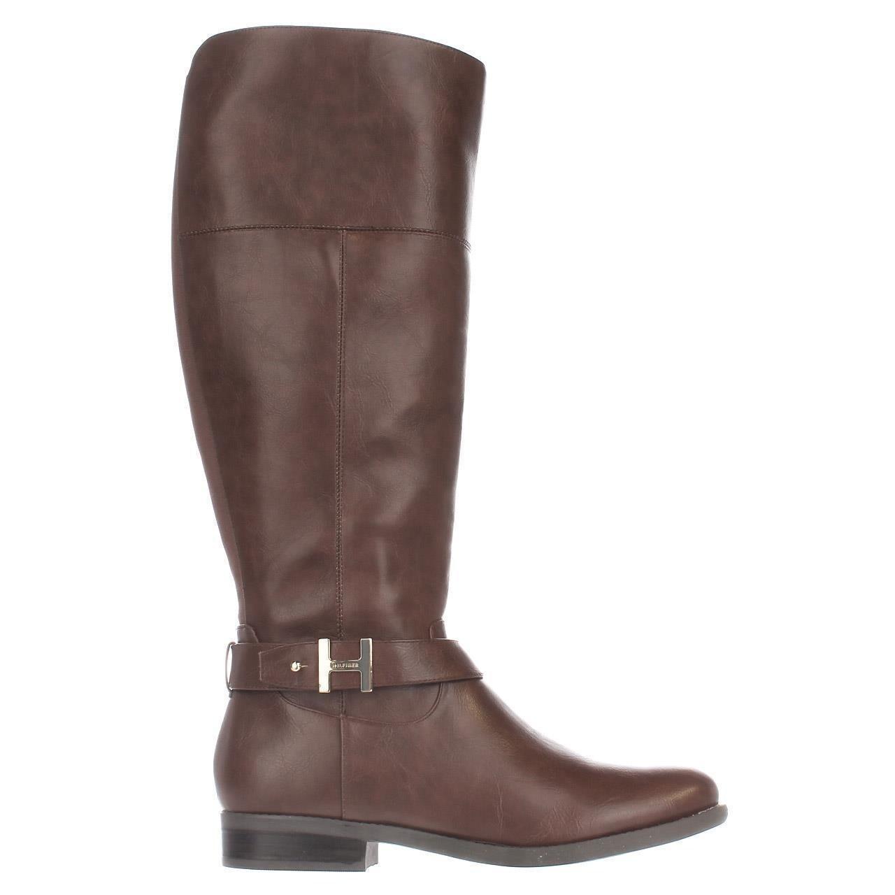 9a8b3a32b Shop Tommy Hilfiger Shahar Wide Calf Knee High Boots