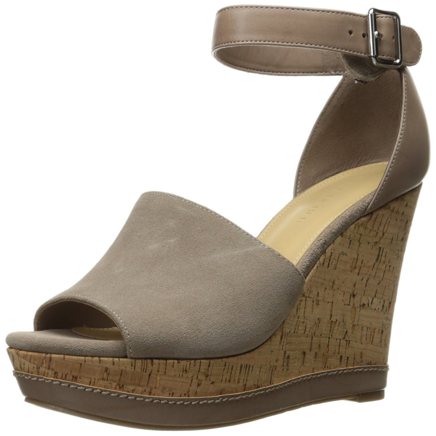 6362ee99 Shop Marc Fisher Womens Hillory Leather Open Toe Casual Platform ...