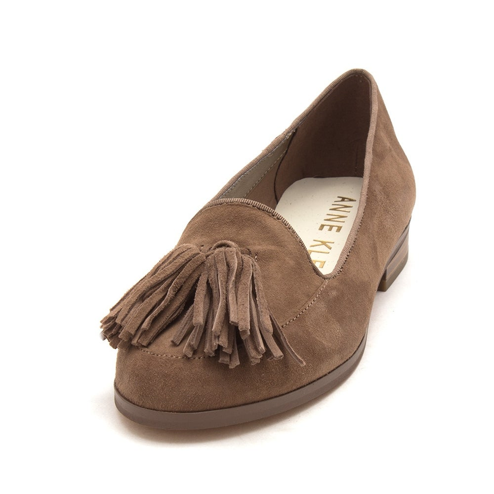 aab6b50b096 Shop Anne Klein Womens Darcy Leather Almond Toe Loafers - Free Shipping On  Orders Over  45 - Overstock - 21154530