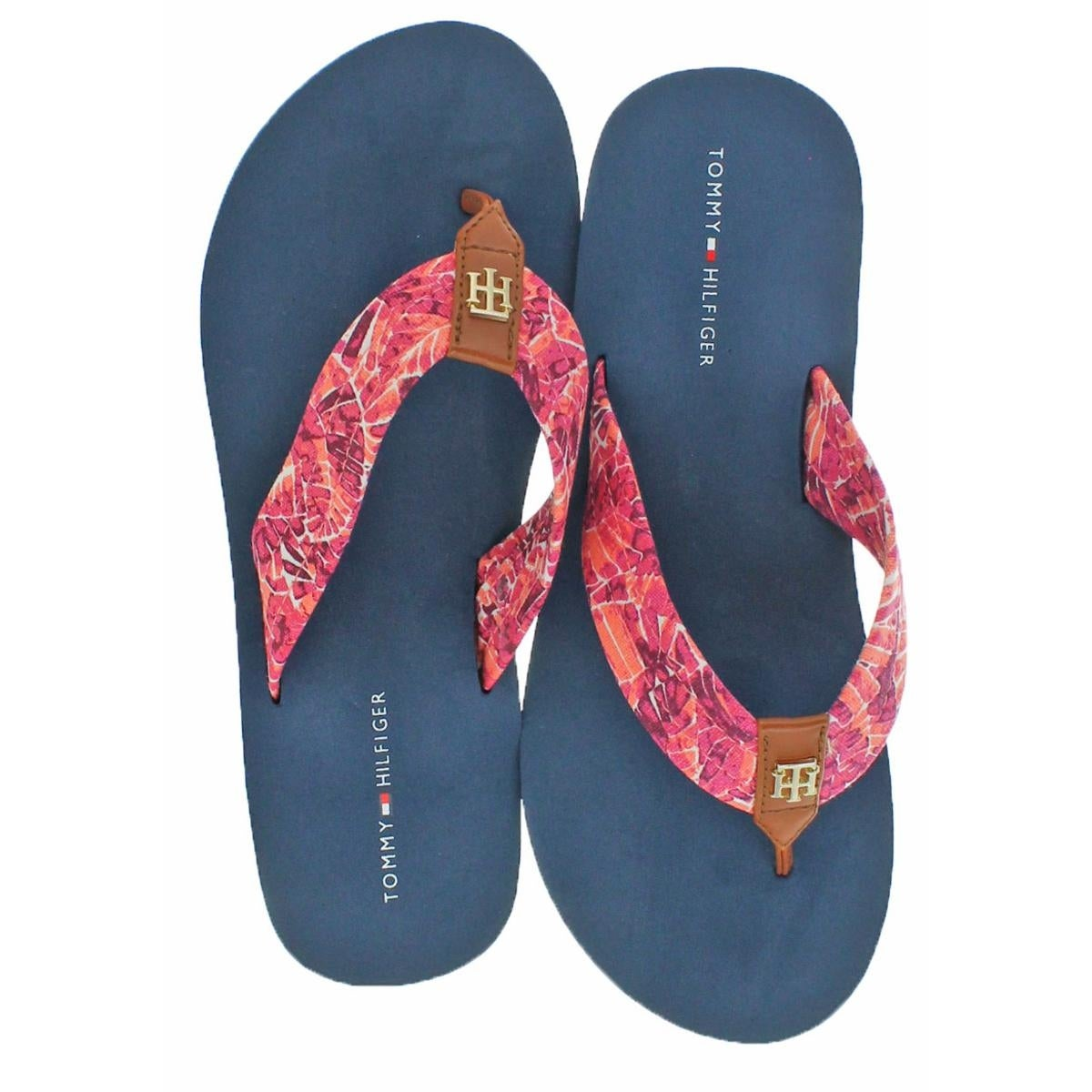 2fc2ea6b18d1 Shop Tommy Hilfiger Womens Flip-Flops Lightly Padded EVA - Free Shipping On  Orders Over  45 - Overstock - 23562385