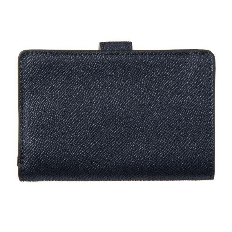 cda6052141ee Shop Coach Crossgrain Leather Medium Corner Zip Wallet F11484 - Free  Shipping Today - Overstock - 23561639