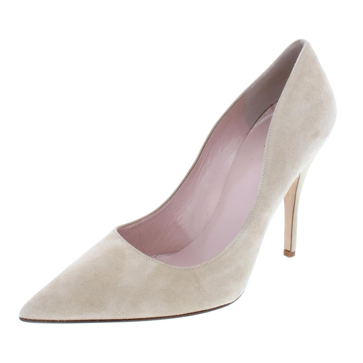 22a961dbbde0 Shop Kate Spade Womens Licorice Pumps Solid Pointed-Toe - Free Shipping  Today - Overstock.com - 14795587