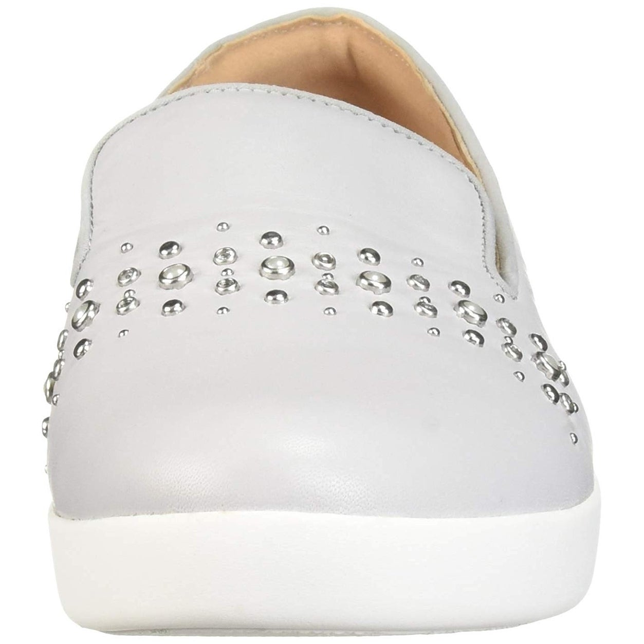 ca120c91d7e Shop FitFlop Women s Audrey Pearl Stud Smoking Slippers Loafer Flat - Free  Shipping Today - Overstock - 27549925