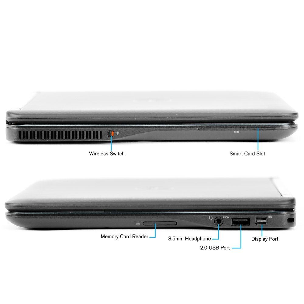 Refurbished Dell E7440 Intel i7-4600U 2 1GHz 16GB 240GB SSD Windows 10 Pro