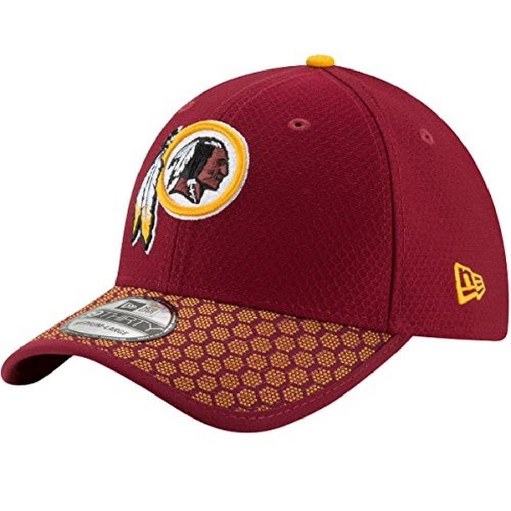 0a42368a6 Shop New Era Mens Washington Redskins 39Thirty Sideline Hat ...