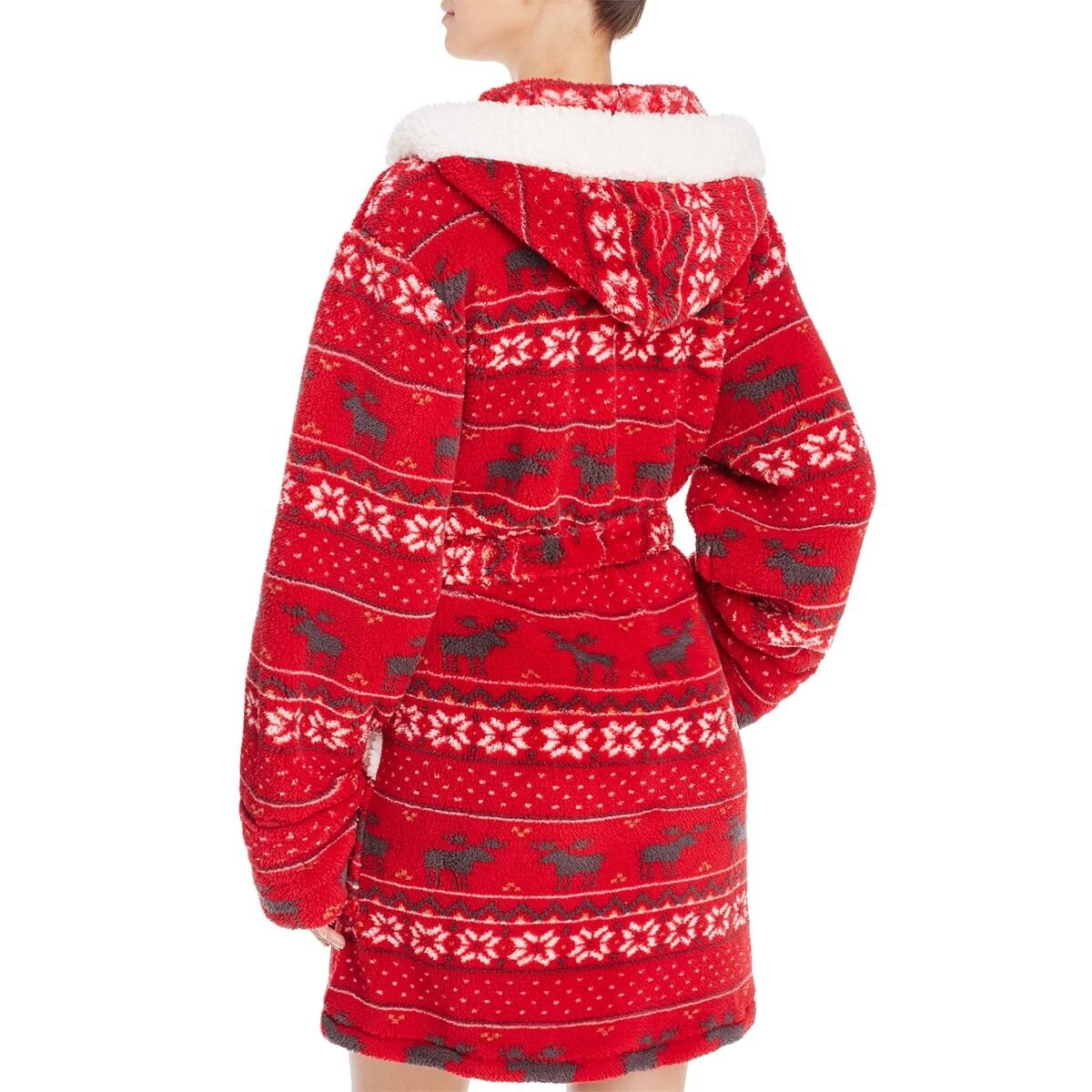ecdbae0147 Shop PJ Salvage Womens Wrap Robe Printed Hooded - Free Shipping On Orders  Over  45 - Overstock.com - 20979599