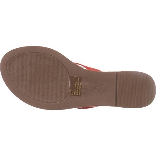 2917ef0fda644 Shop TS35 Beda Flat Flip Flop Sandals - Coral - 6 - Free Shipping On Orders  Over  45 - Overstock.com - 20747234