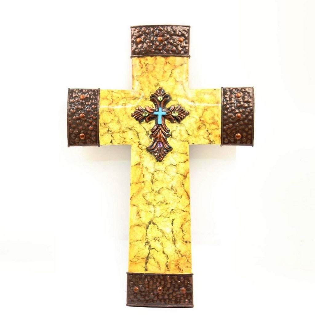 Fancy Gold Cross Wall Decor Photo - Art & Wall Decor - hecatalog.info