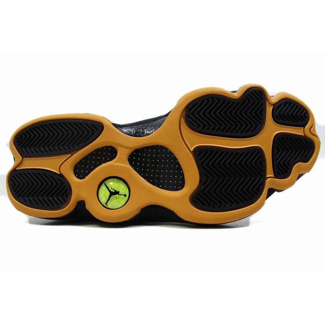newest ed065 31e81 Shop Nike Men s Air Jordan XIII 13 Retro Low Black Chutney Chutney  310810-022 - Free Shipping Today - Overstock - 20130029