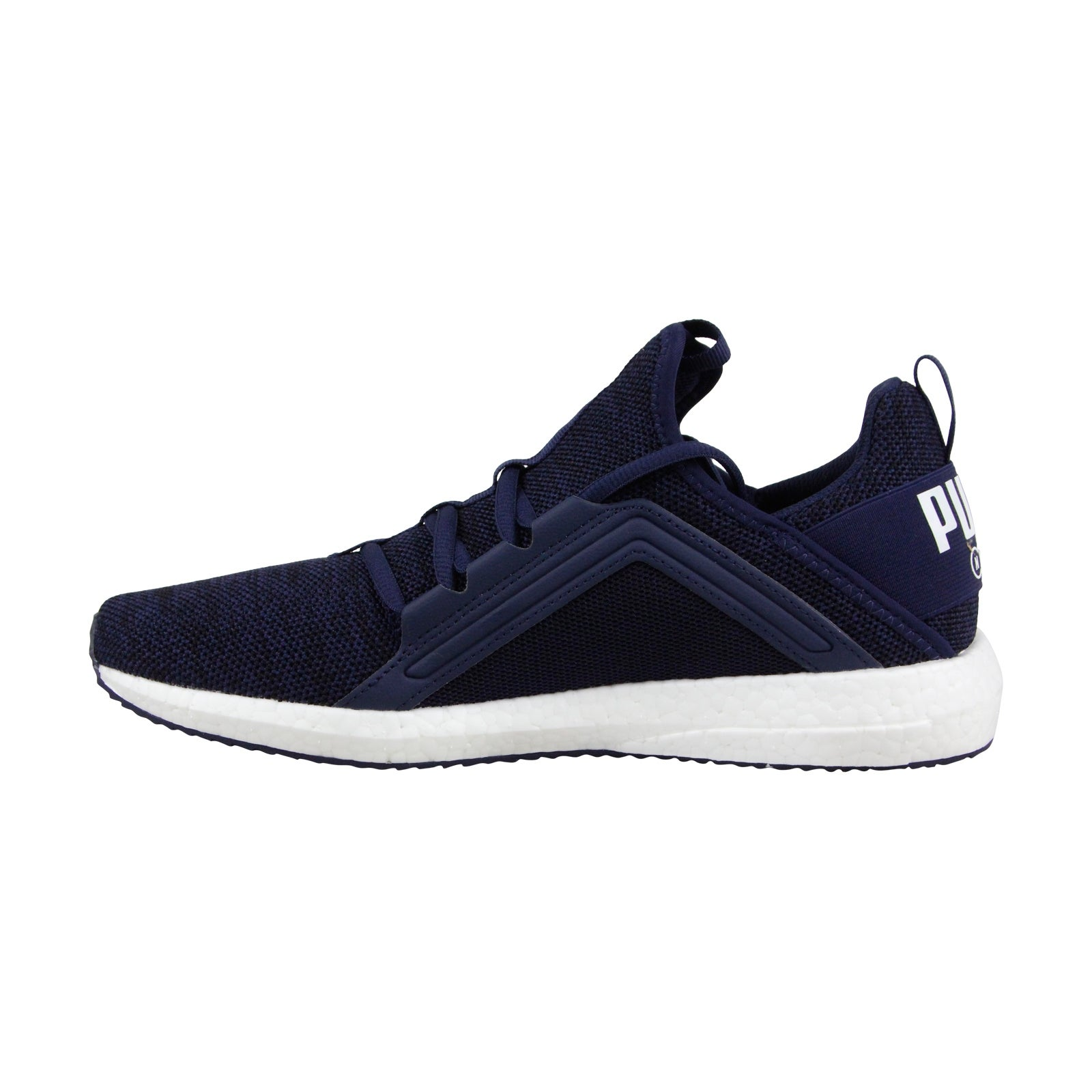 3ae22373a50 Shop Puma Mega Nrgy Knit Mens Blue Mesh Athletic Lace Up Training Shoes -  Free Shipping On Orders Over  45 - Overstock - 23524549