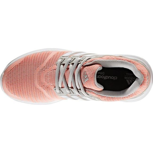 low priced 96bd1 ad229 Shop adidas Womens Energy Cloud V 2-Tone Lenticular Mesh Running Shoe Grey  Two F17FTWR WhiteSun Glow S16 - On Sale - Free Shipping On Orders Over  45 ...