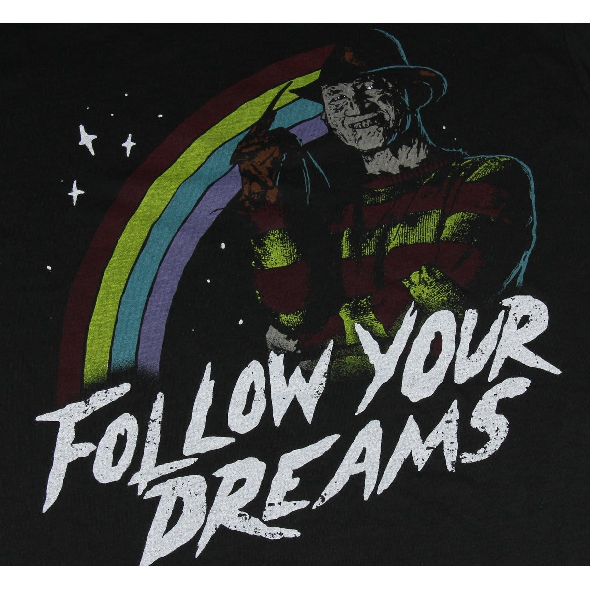 7c397446 Shop Freddy Krueger Shirt - A Nightmare on Elm Street Follow Your Dreams  Horror Slasher Film T-Shirt - Free Shipping On Orders Over $45 - Overstock  - ...