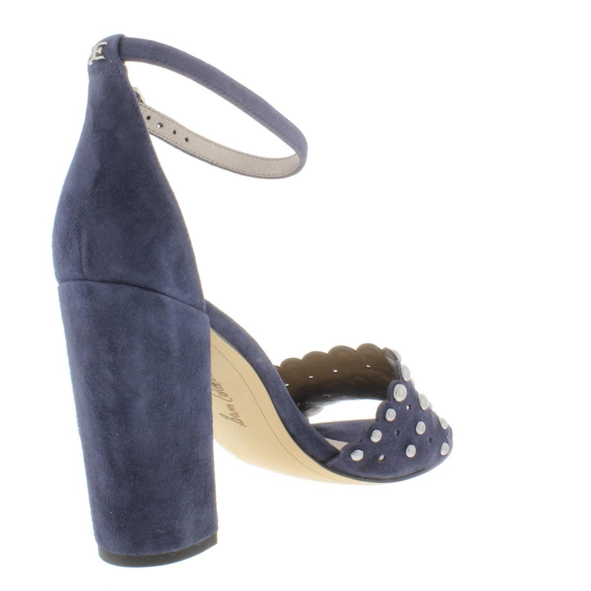 86ba0e5ef Shop Sam Edelman Womens Yaria Evening Heels Suede Heels - 8.5 Medium ...