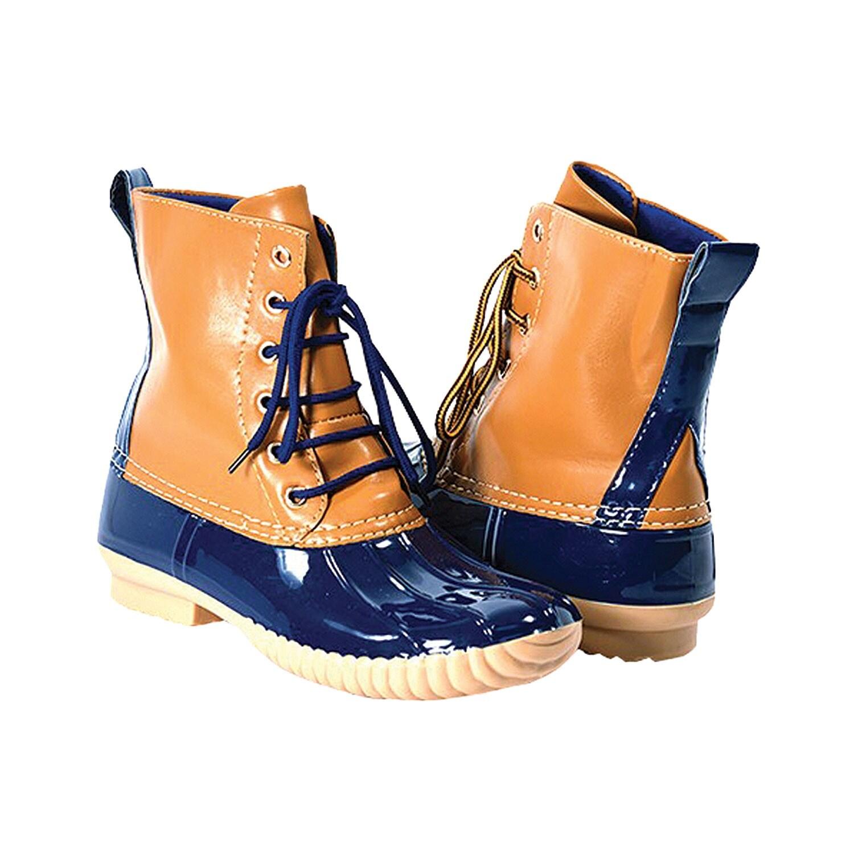 daa86d4b1b8a Shop Women's Avanti Rosetta Duck Boots - WaterProof Rain Boots - On Sale -  Free Shipping On Orders Over $45 - Overstock - 18542079