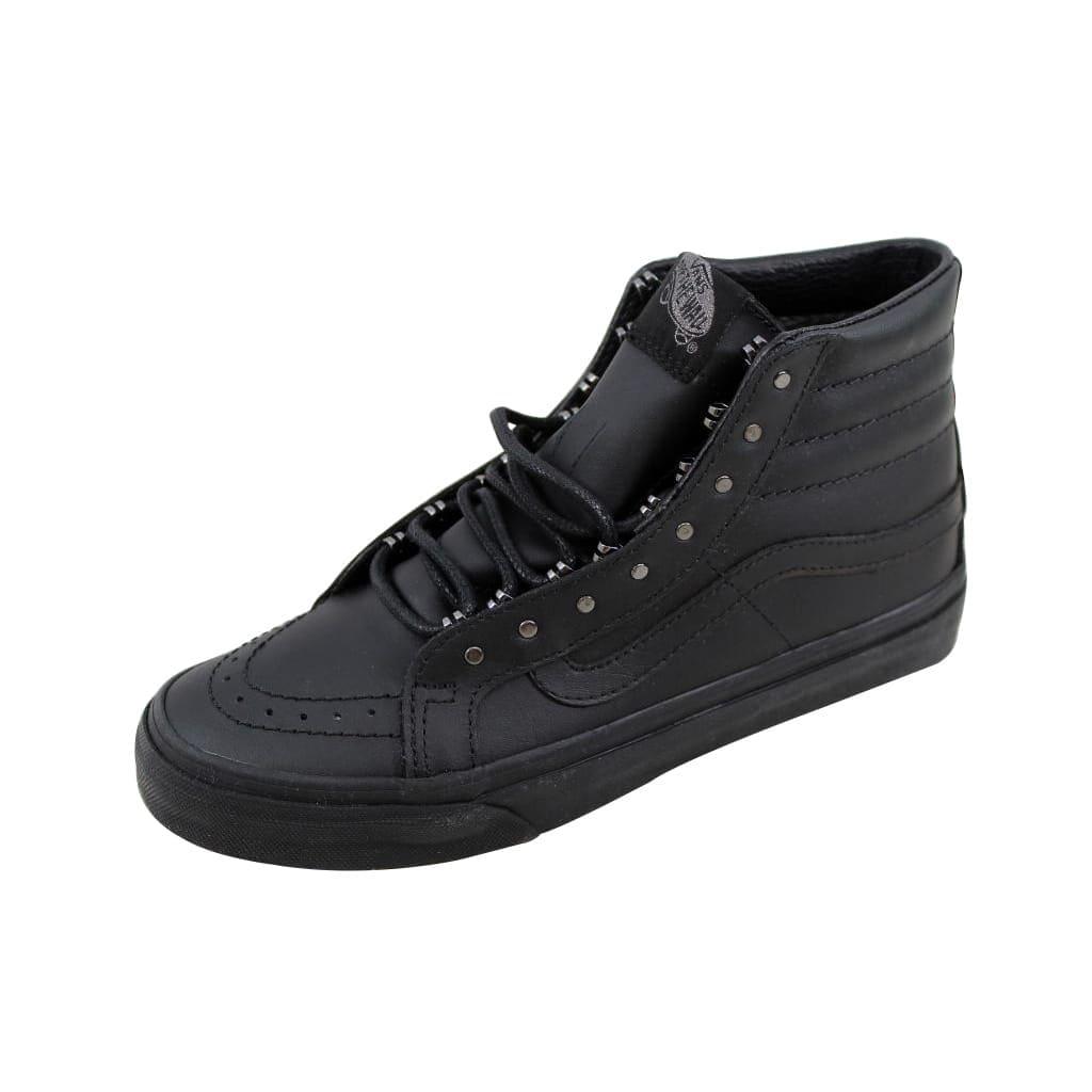 5911109404 Shop Vans SK8 Hi Slim Gunmetal Black Rivet VN00018IJV1 Men s - Free  Shipping Today - Overstock - 21893323