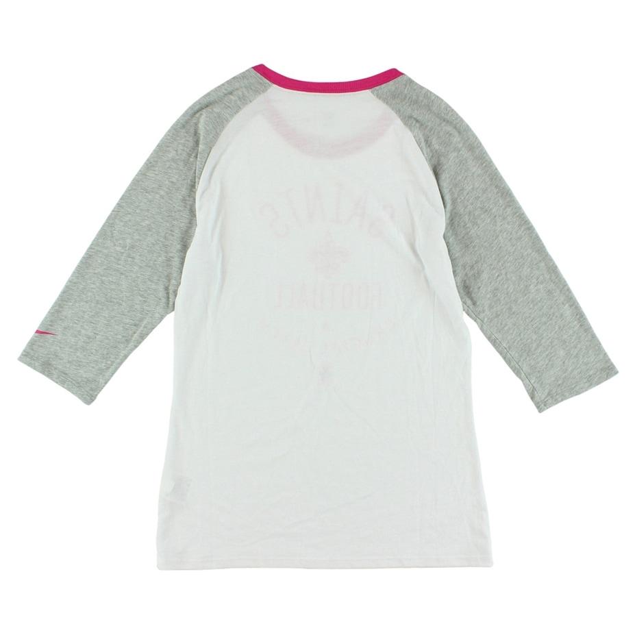 a8ea4e52 Nike Womens New Orleans Saints T Shirt White