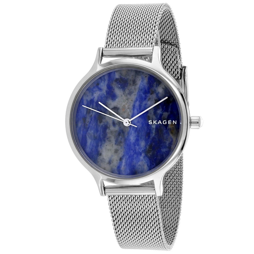 626f0895e Shop Skagen Women's Anita SKW2718 Blue Dial watch - Free Shipping Today -  Overstock - 24225947