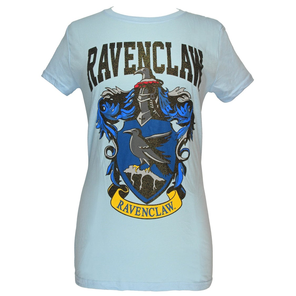 6bb7b9f5 Shop Harry Potter Ravenclaw House Juniors Blue T-shirt - Free Shipping On  Orders Over $45 - Overstock - 26566895