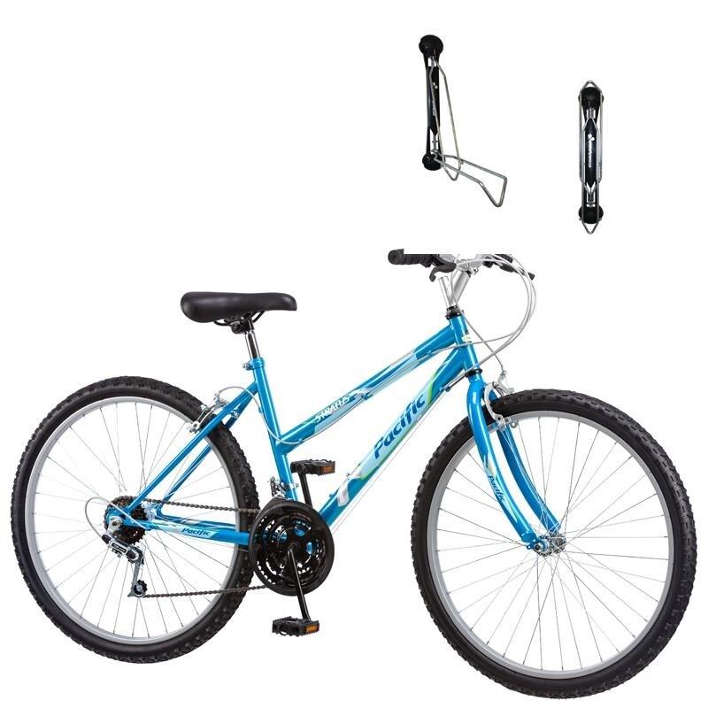 "Pacific 26/"" Men/'s Stratus All Terrain Bike Bicycle Red"
