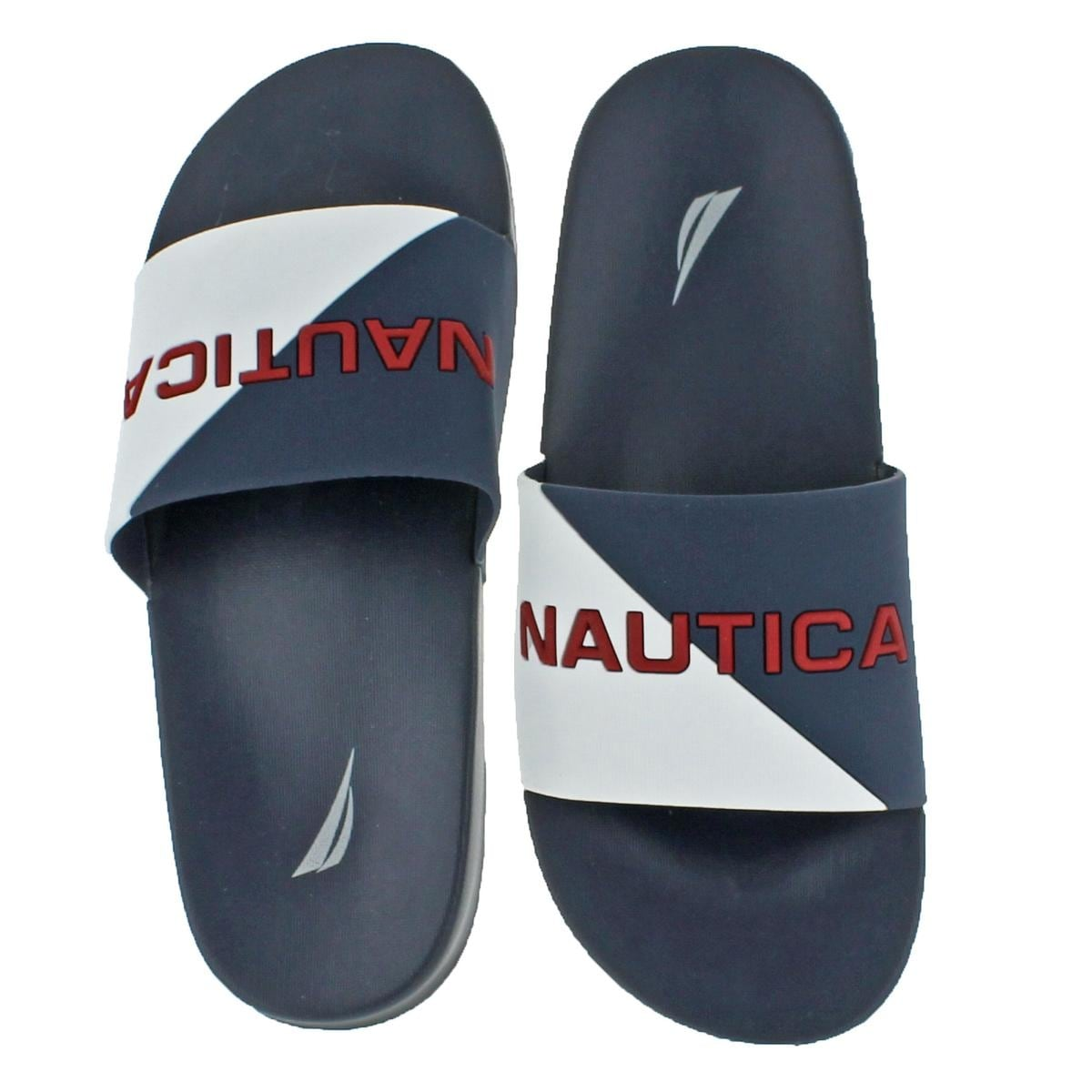 1cbc8df51fe Shop Nautica Mens Stono Slide Sandals Summer Retro - Free Shipping On  Orders Over  45 - Overstock - 21724386
