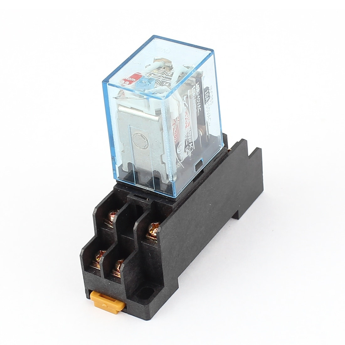 Shop Ac 200 220v Coil Voltage 35mm Din Rail Mount Electromagnetic Relay W Socket Free Shipping On Orders Over 45 18262866