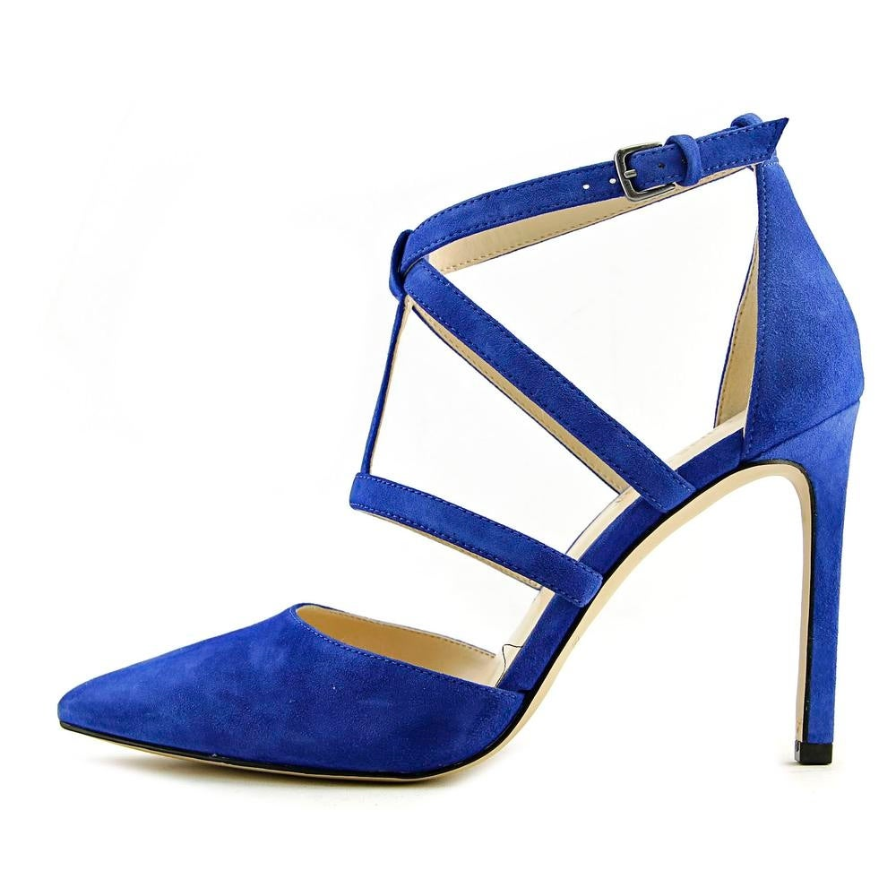 c77d9550a87 Shop Nine West Tenlee Women Blue Pumps - Free Shipping On Orders Over  45 -  Overstock - 17981560