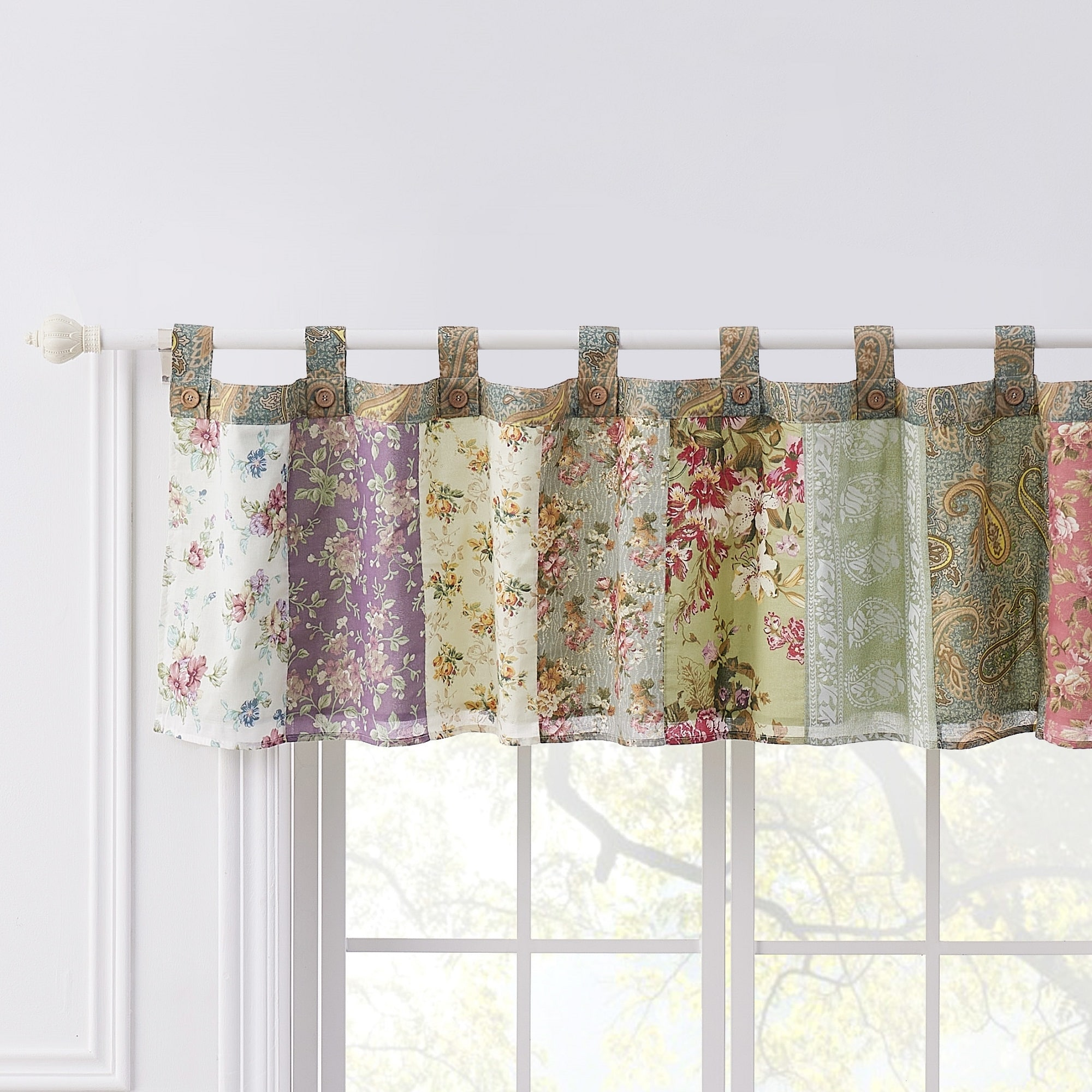 Buy Patchwork Valances Online At Overstock Our Best Window Treatments Deals