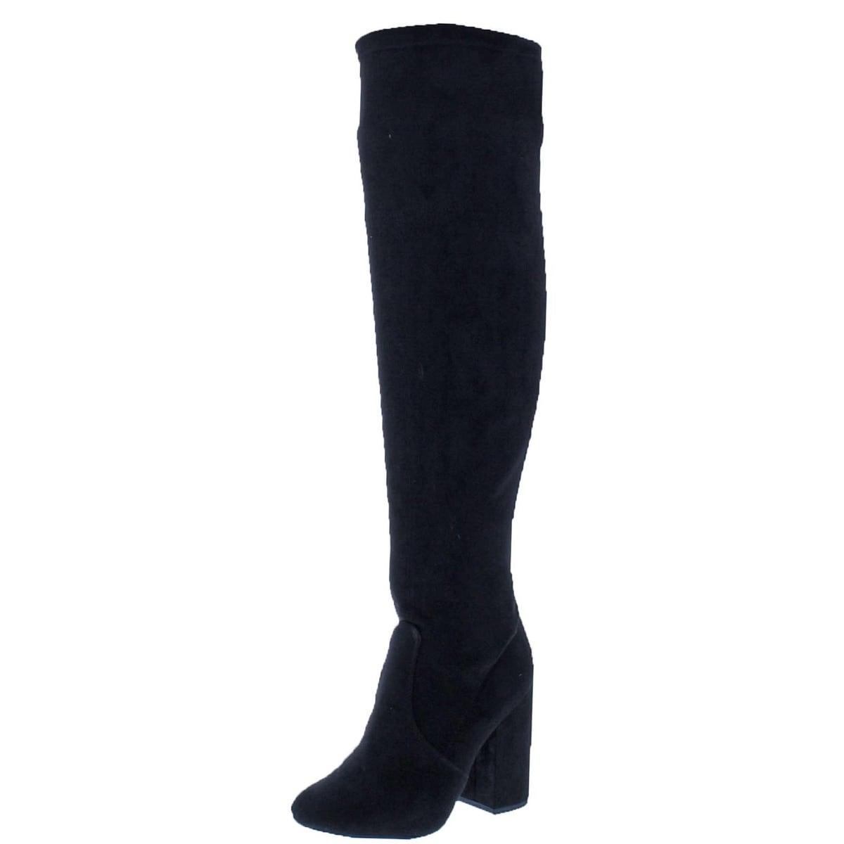 8b5abaf5801 Shop Steve Madden Womens Niela Over-The-Knee Boots Tall Dress - 7.5 medium  (b