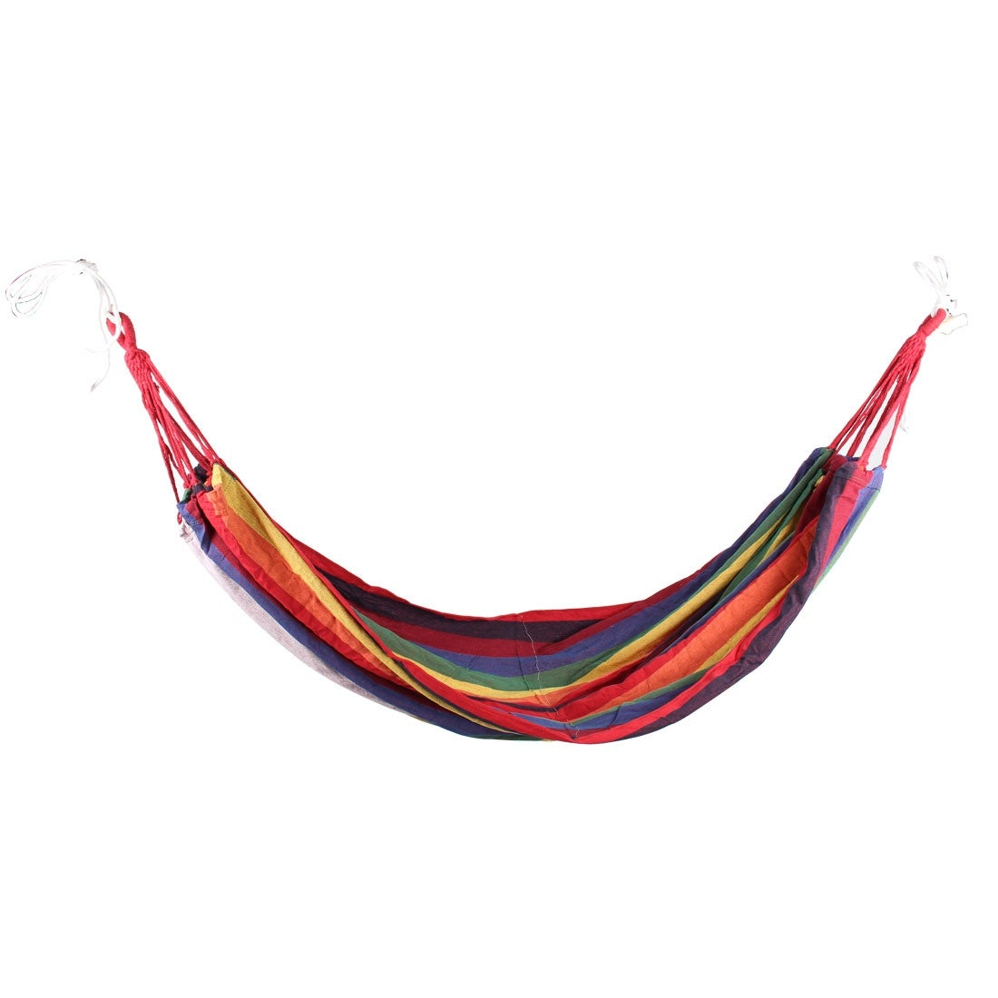 camping foldable canvas hanging sleeping bed hammock colorful 1 5m
