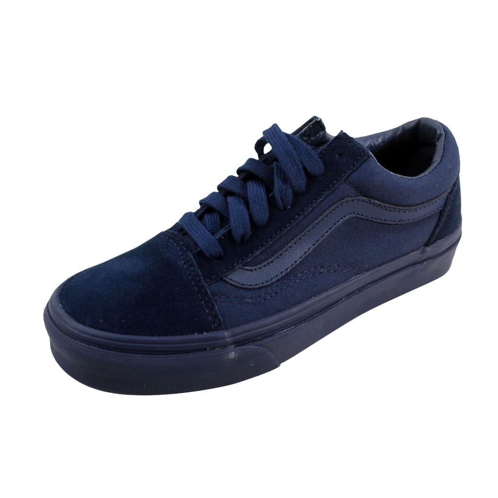2b2d1d0d773c Shop Vans Men s Old Skool Mono Dress Blues VN0A31Z9JIN - On Sale ...