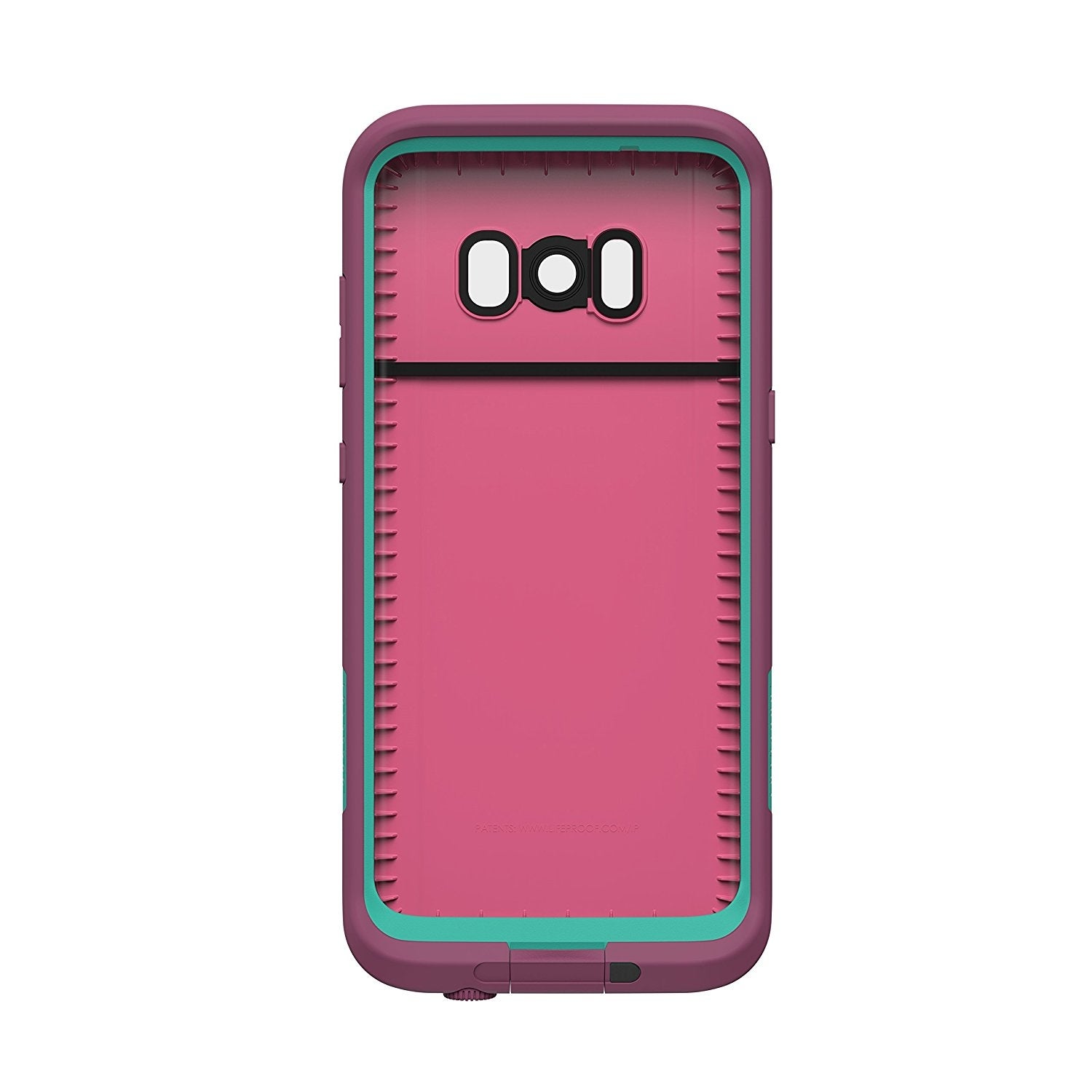 san francisco c61a0 e2df6 Lifeproof FRE SERIES Waterproof Case for Samsung Galaxy S8 - Twilight Edge  Pink