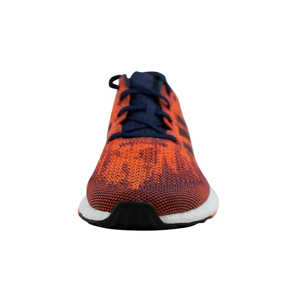 59adc7f694e71 Shop Adidas PureBoost DPR Collegiate Navy Night Navy-Solar Orange S82011  Men s - Free Shipping Today - Overstock - 22531488