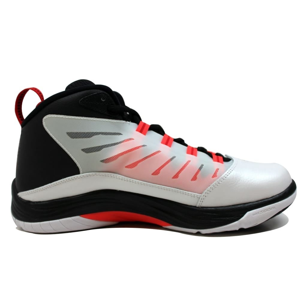 65211821e078ba Shop Nike Men s Air Jordan Prime.Fly 2 White Gym Red-Black-Infrared  23654287-123 - On Sale - Free Shipping Today - Overstock - 21141942