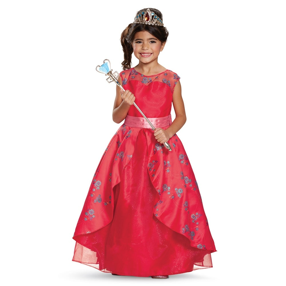Girls Prestige Elena Ball Gown Disney Costume - Free Shipping Today ...