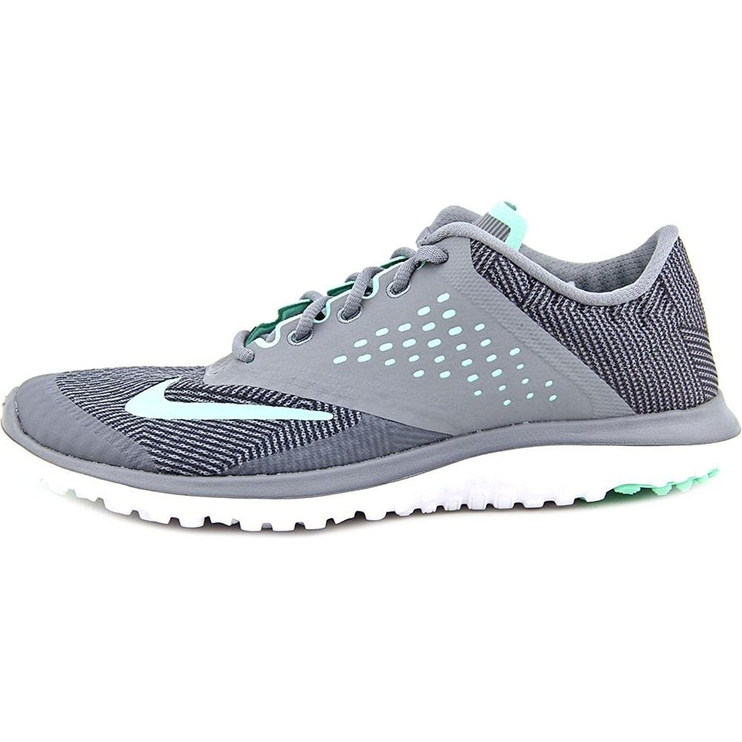 new arrival ccc5d 000a5 Shop New Nike Women s FS Lite Run 2 Premium Running Shoe Grey Green Glow -  Free Shipping Today - Overstock - 17950014