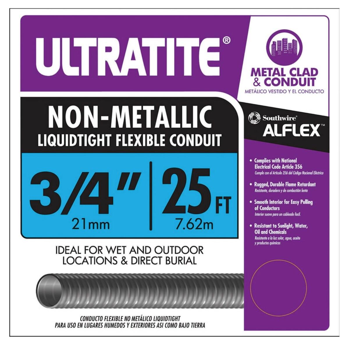 Southwire 55094321 Liquid Tight Flexible Conduit, 3/4\