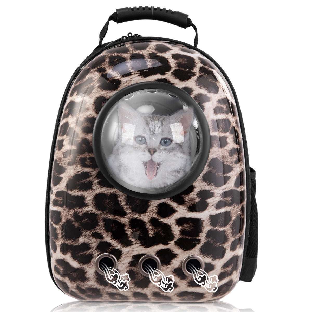 f36373ce7e0 Shop Costway Astronaut Pet Cat Dog Puppy Carrier Travel Bag Space Capsule  Backpack Breathable - On Sale - Free Shipping Today - Overstock - 18020355