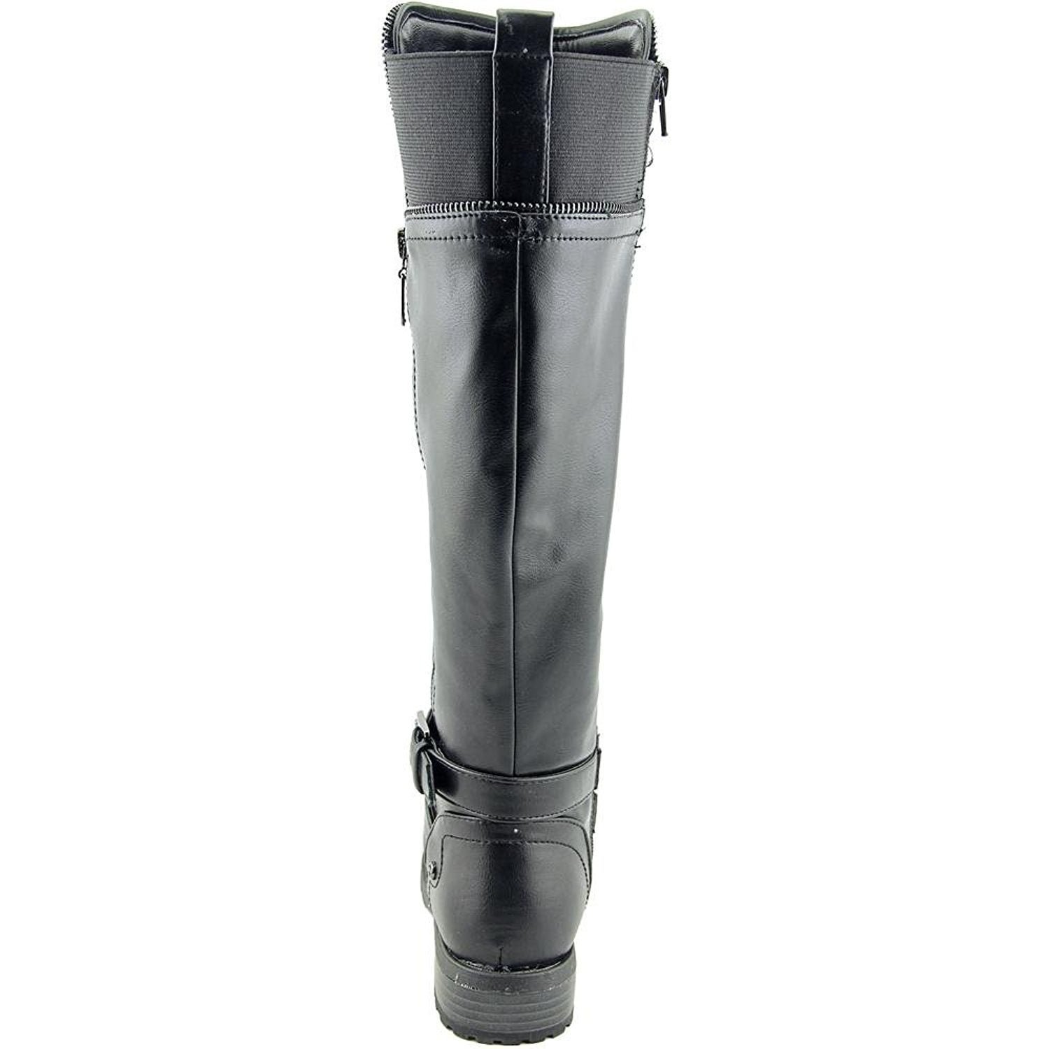 4837dbd0aaf1 Shop GUESS Womens Halsey Wide Calf Closed Toe Knee High Fashion Boots -  Free Shipping On Orders Over  45 - Overstock - 16271535
