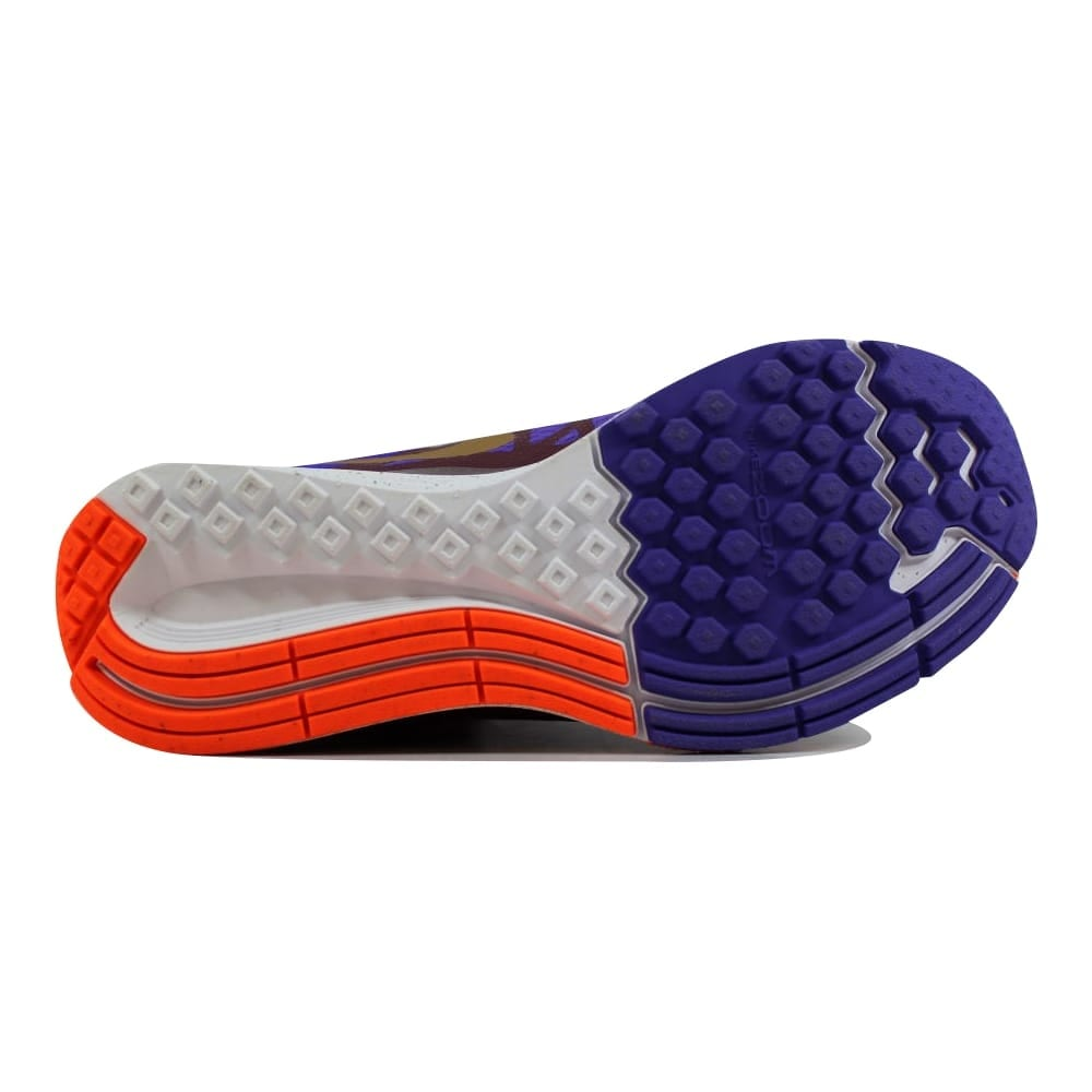 new style 0da88 5dc61 Nike Women's Zoom Elite 7 QS Deep Granite/Metallic Gold-Hyper Grape  716435-685 Size 10.5
