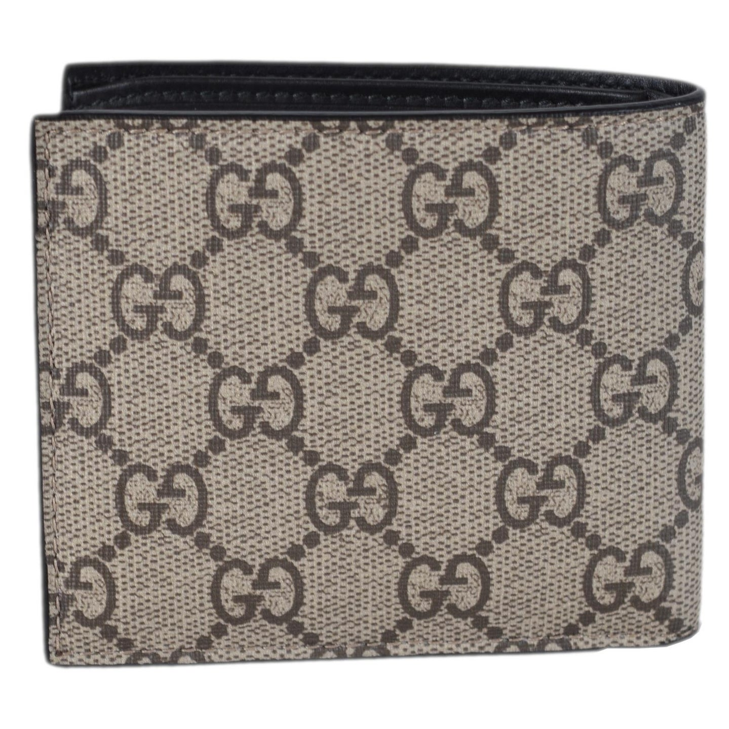 b144773c4aecec Shop Gucci Men's Beige GG Supreme Canvas Angry Bengal Tiger Bifold Wallet -  measures 4.25 x 3.5 inches - Free Shipping Today - Overstock - 25435884