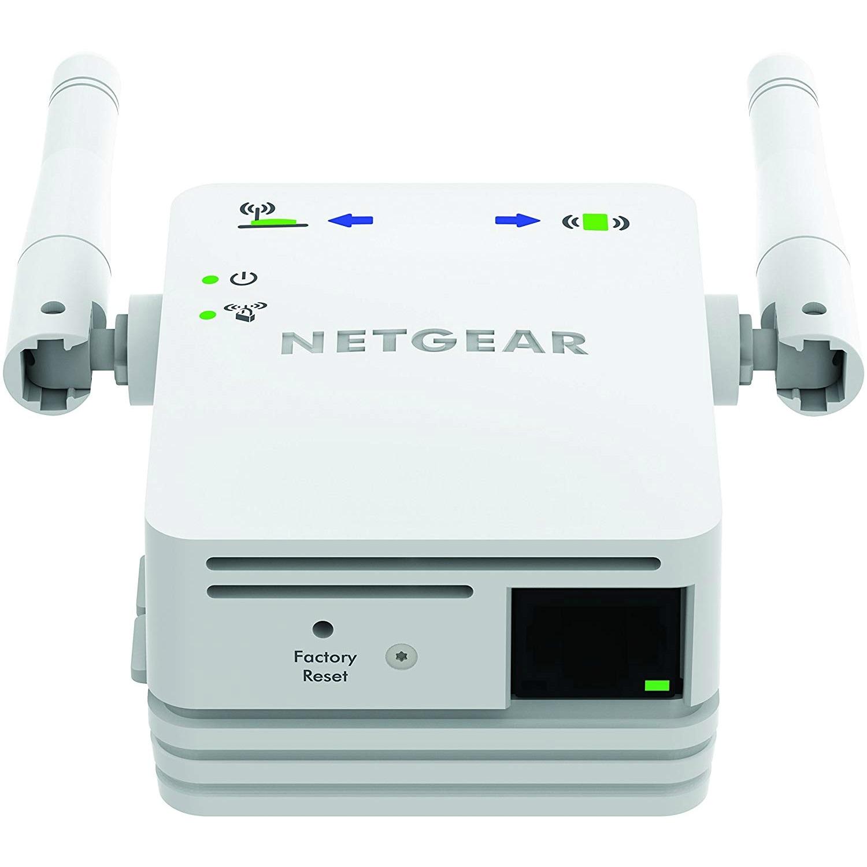 Netgear WN3000RP-100NAS NETGEAR N300 Wi-Fi Range Extender - Wall Plug  Version (WN3000RP)
