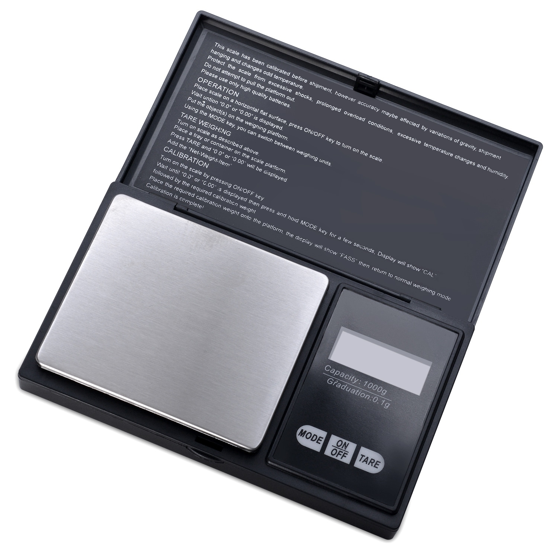 2a0de5e238fe 500g x 0.1 Gram Digital Portable Pocket Scale Jewelry / Cooking Scale - SIZE