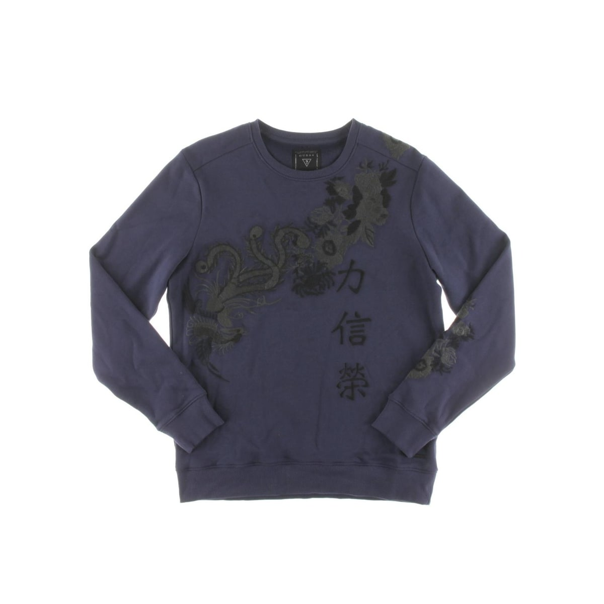 Shop Guess Mens Sweater Embroidered Long Sleeves - Free Shipping On Orders  Over  45 - Overstock - 20246062 5b614176ce899