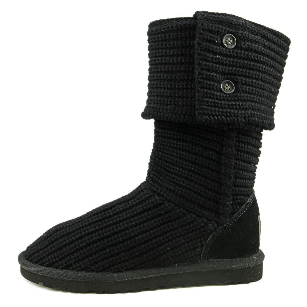 Shop Ugg Australia Classic Cardy Women Round Toe Canvas Black Winter Boot -  Free Shipping Today - Overstock.com - 17197938