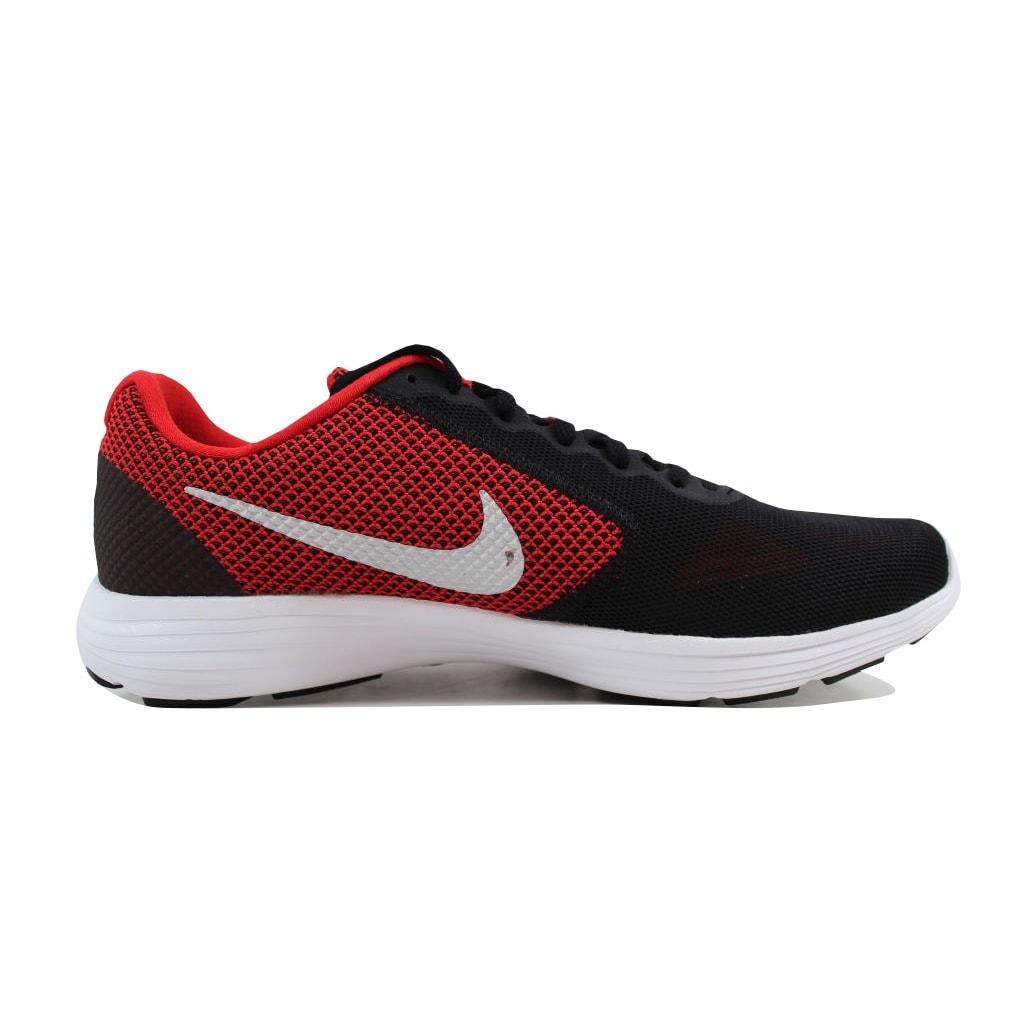 de77c18caa4 Shop Nike Revolution 3 University Red Metallic Silver 819300-600 ...