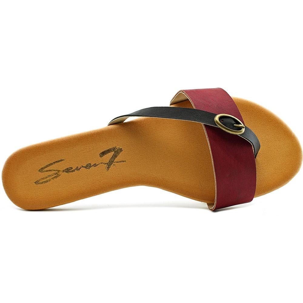 2b271791952ce2 Shop Seven7 Koopie Women Open Toe Synthetic Thong Sandal - Free Shipping On  Orders Over  45 - Overstock.com - 15029679