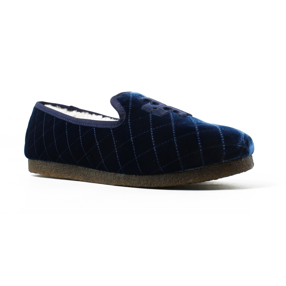 efda3c8dbfc4 Shop Tory Burch Womens Blue Loafer Flats Size 10 New - Free Shipping ...